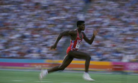 Carl Lewis at the 1984 LA Olympics