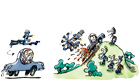 Benoit Jacques Dowling illustration 21 July