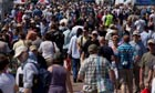 Sharp Rise in UK Population