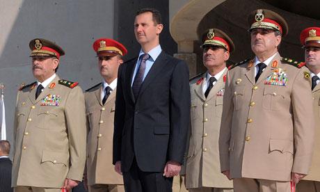 Bashar Assad, Dawoud Rajha, Fahed al-Jasem el-Freij