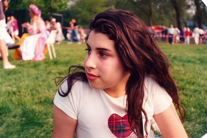 Amy Winehouse: Amy Winehouse in her early teens