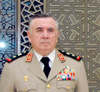 Former defense minister Hassan Turkmani
