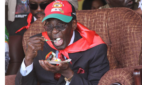 Lavish party marks Mugabe's 88th birthday