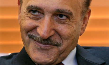 Omar Suleiman, who was briefly made Egypt's vice-president before Hosni Mubarak was ousted from power last year