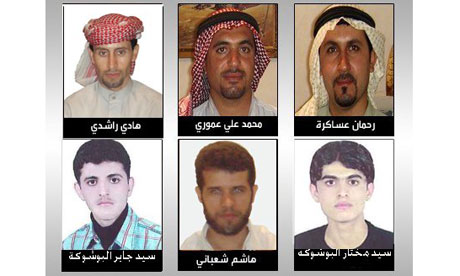 Iran Arab prisoners