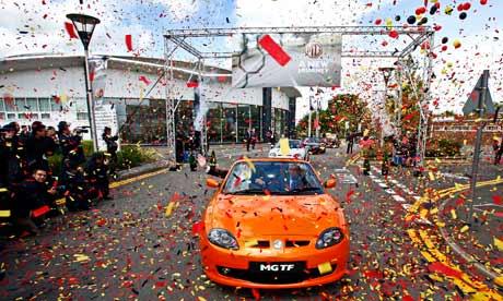 Rover MG China market