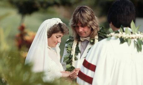 Ozzy osbourne wedding