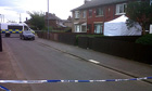 Police at the Middlesbrough house where a woman's body was found