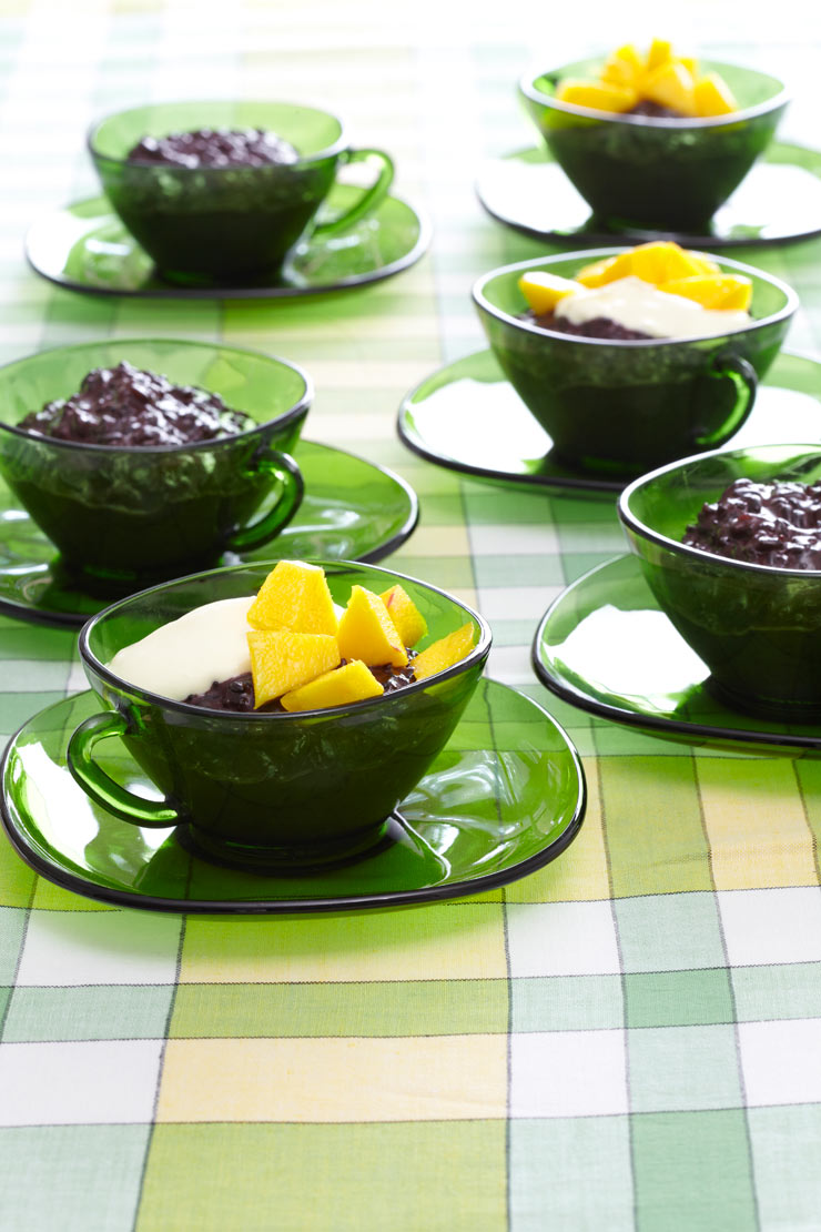 Black rice pudding recipe | Life and style | The Guardian