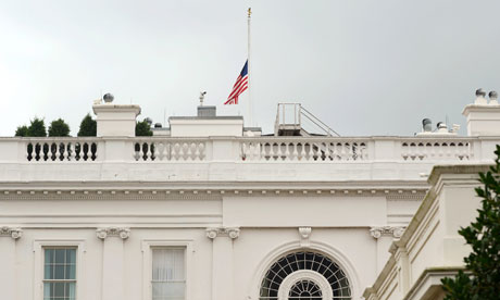 Colorad-Aurora-shooting-White-House-flag-