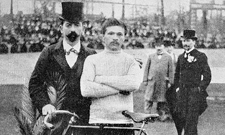 1903 Tour de France winner Maurice Garin