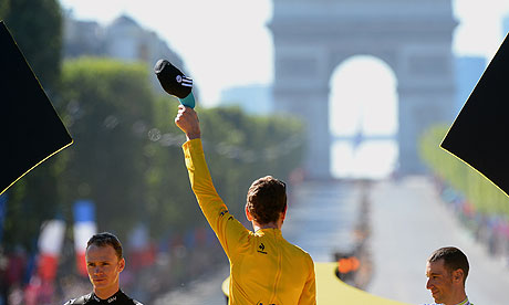 Bradley Wiggins in Paris