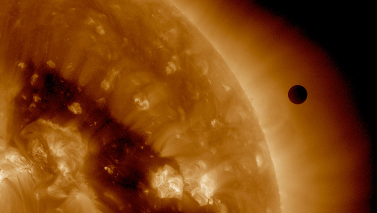 Month in space: 2012 Venus Transit