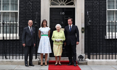 Queen at Downing Street