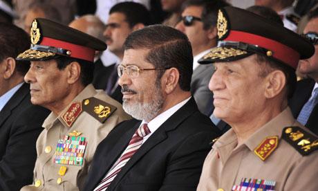 Mohamed Morsi, Hussein Tantawi
