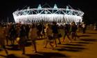 Olympics 2012 opening ceremony rehearsal