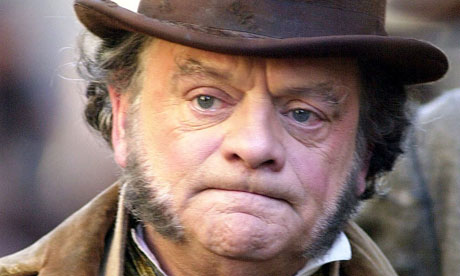 David Jason as Mr Micawber