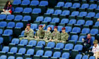 Olympics empty seats row: Locog calls in the army (again) Olympic organisers bring in soldiers to fill empty seats and refuse to rule out seeking G4S volunteers if problem persists