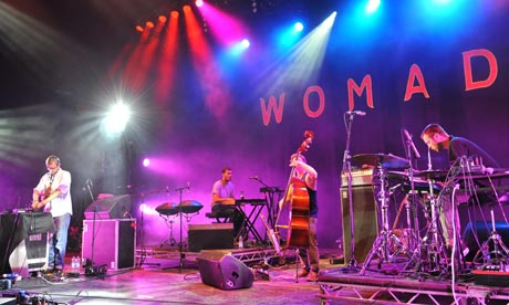 Portico Quartet perform at Womad