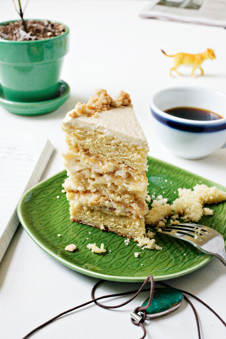 Apple pie layer cake recipe | Life and style | The Guardian