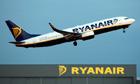 Ryanair flight