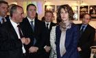 Syria s first lady, Asma Assad, visits a