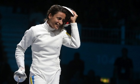 Gold for Yana Shemyakina of Ukraine