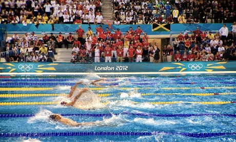 The finals of the Men's 100m backstroke
