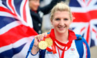 Great Britain's double gold medalist Rebecca Adlington