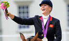 Zara Phillips at the London 2012 Olympic Games