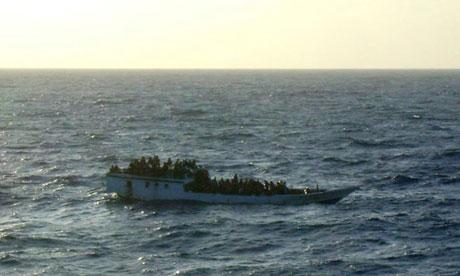 Distressed boat on way to Australia