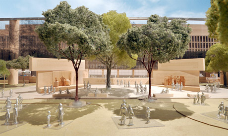 Frank Gehry's Eisenhower Memorial design