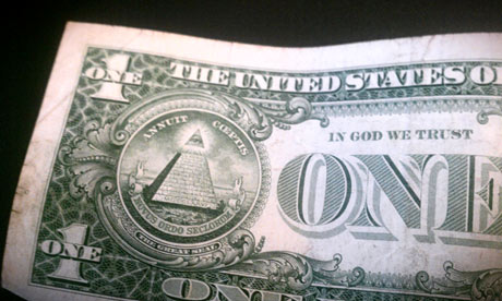 A US one dollar bill. Photograph: Paul Owen