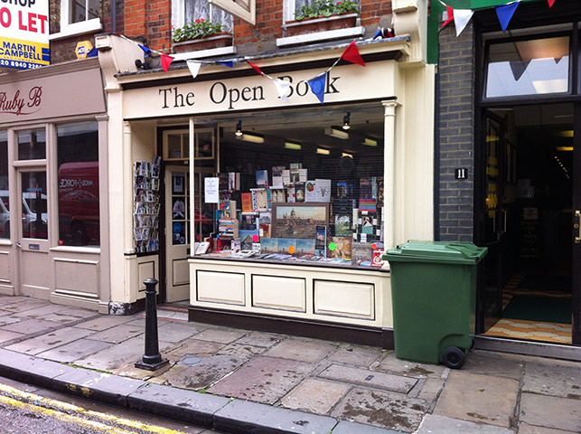Bookshops: Open Book in Richmond