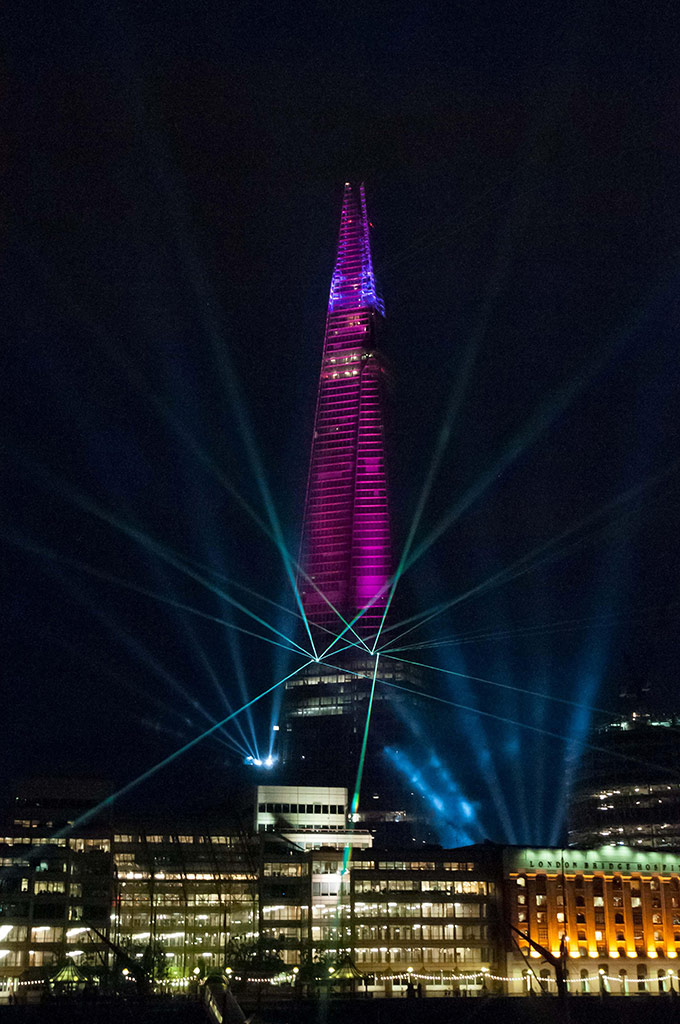 Inaugural laser show in pictures art and design the guardian