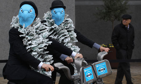 Barclays bank protesters