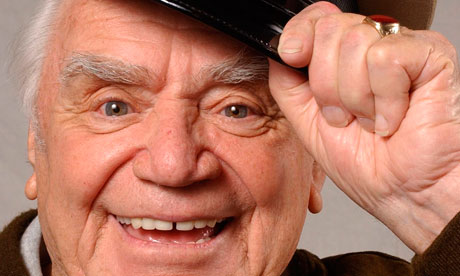 Ernest Borgnine dies aged 95 Actor who won an Oscar for his role as Marty in the 1955 film of the same name had a 60-year career in film and television
