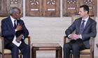Annan-Assad talks on Syria described as 'constructive'