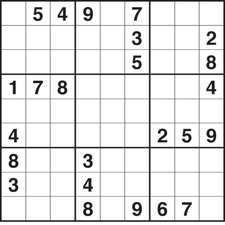 Go Back > Gallery For > Medium Sudoku Puzzles To Print
