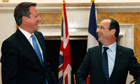 David Cameron and François Hollande, Washington, 18/5/12