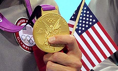 Michael Phelps' gold medal