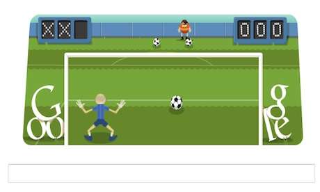 London 2012 football  Friday&#39;s Google doodle game | Technology ...