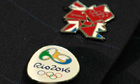 London/Rio Olympics badges