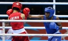 Nicola Adams winning the Olympic women's flyweight boxing