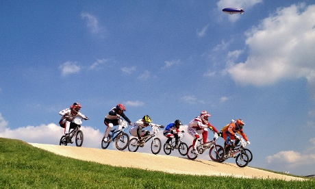 Men's BMX semi-final