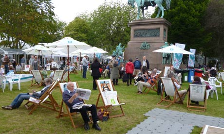 Edinburgh Book Festival site