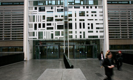 The Home Office building in Marsham Street, London