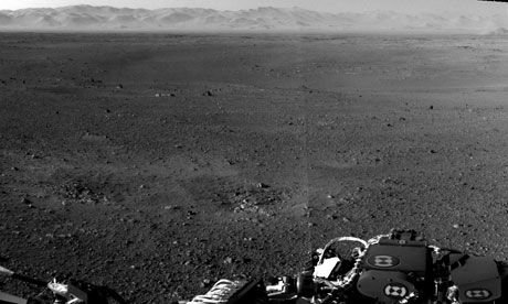 Curiosity rover: hi-res image of Gale Crater