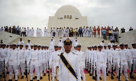 Pakistani navy cadets