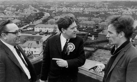 Alf Morris canvassing in Wythenshawe in 1966